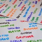 tanti colori parole