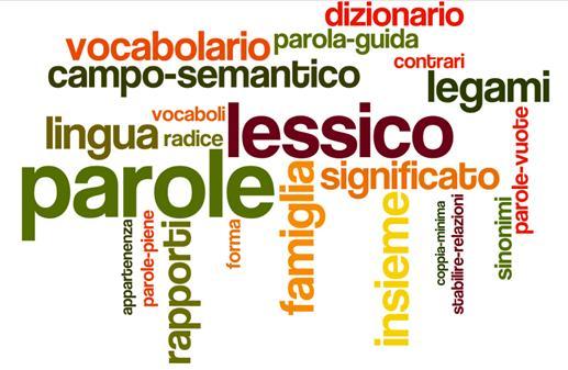 Parole in campo! Comprendere i rapporti semantici tra le parole per arricchire consapevolmente il vocabolario di base