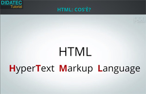 HTML: un'introduzione